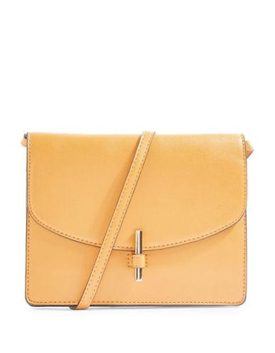 Topshop Olivia Crossbody Bag-MUSTARD-One Size