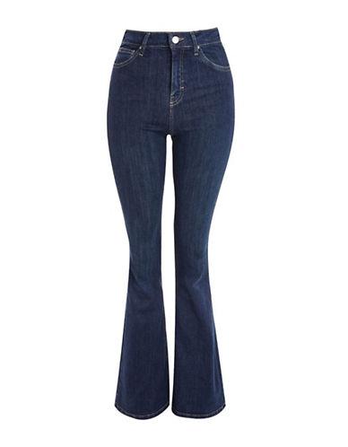 Topshop MOTO Flared Jamie Jeans 30-Inch Leg-INDIGO-26X30