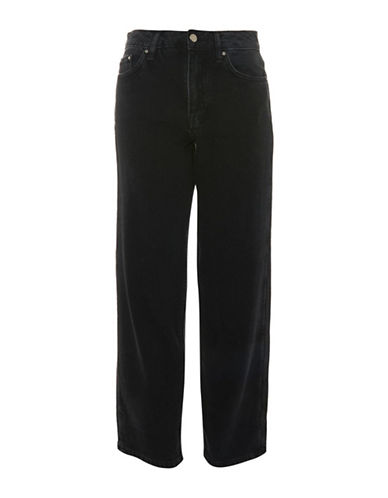 Topshop Straight-Leg Jeans by Boutique-BLACK-UK 8/US 4