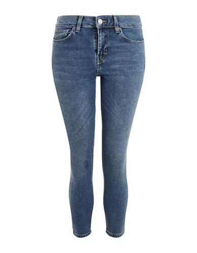 Topshop PETITE Jamie Jeans 28-Inch Leg-MID DENIM-30X28