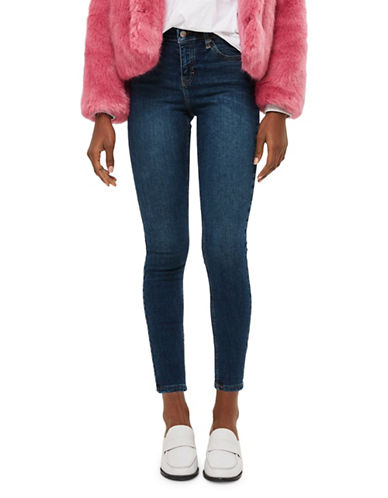 Topshop PETITE Jamie Jeans 28-Inch Leg-DIRTY DIRT-25X28