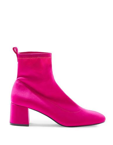 Topshop Buttercup Sock Boots-PINK-EU 40/US 9.5