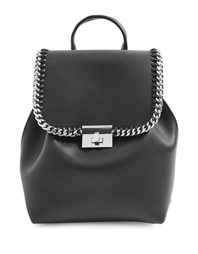 Topshop Minilock Backpack-BLACK-One Size