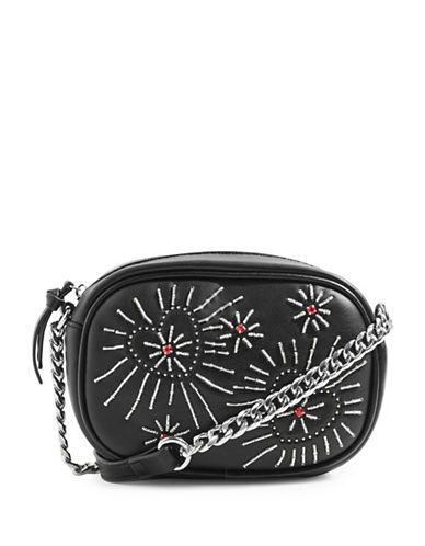 Topshop Rumina Crossbody Bag-BLACK-One Size
