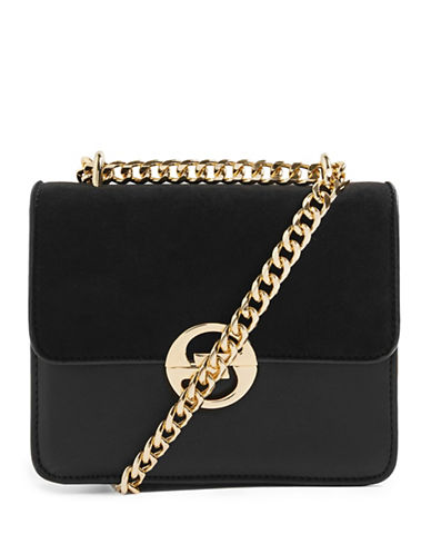 Topshop Rae Crossbody Bag-BLACK-One Size