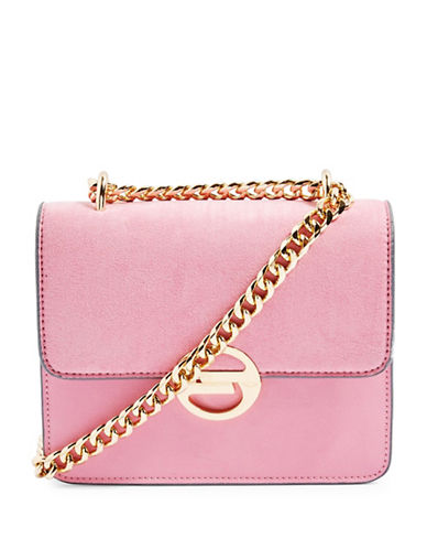 Topshop Rae Crossbody Bag-PINK-One Size