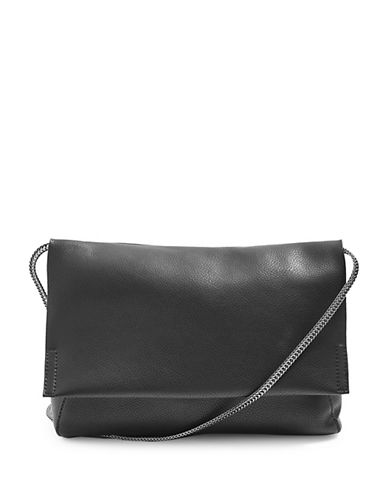Topshop Charlie Quilted Crossbody Bag-BLACK-One Size