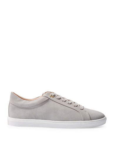 Topshop Cookie Lace-Up Sneakers-GREY-EU 38/US 7.5