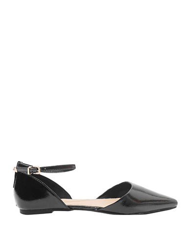 Topshop Annie Pointed Shoes-BLACK-EU 35/US 4.5