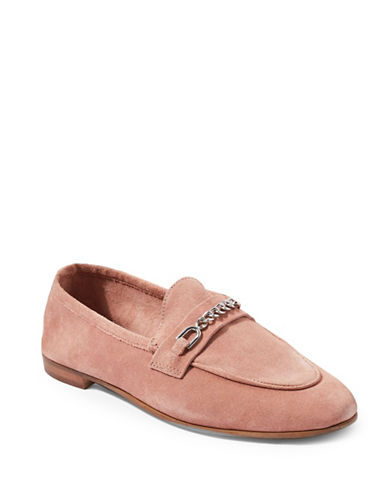 Topshop Key Trim Loafers-PINK-EU 40/US 9.5