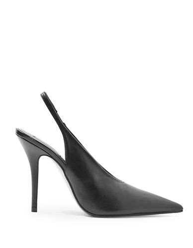 Topshop Goddess Slingback Pumps-BLACK-EU 37/US 6.5