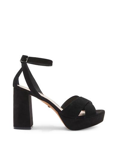 Topshop Chaussures à plateforme avec brides croisées LEAH