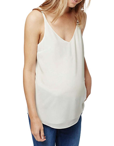 Topshop MATERNITY Strappy Cami-IVORY-UK 8/US 4 plus size,  plus size fashion plus size appare