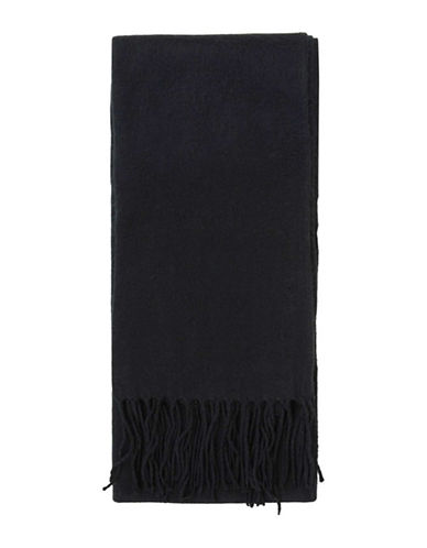 Topshop Super-Soft Scarf-BLACK-One Size