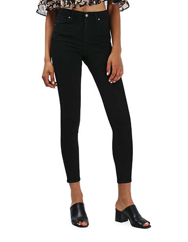 Topshop MOTO Jamie Jeans 32-Inch Leg-BLACK-30X32
