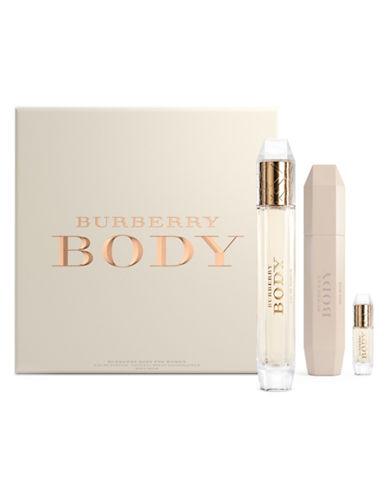 Burberry Body Three-Piece Set-NO COLOUR-One Size