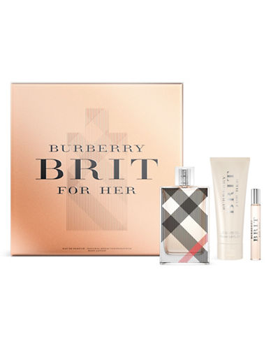 Burberry Brit Three-Piece Holiday Gift Set-0-100 ml