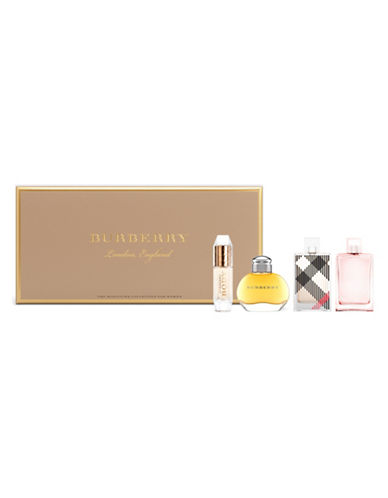 Burberry Burberry Four-Piece Miniature Gift Set-0-5 ml