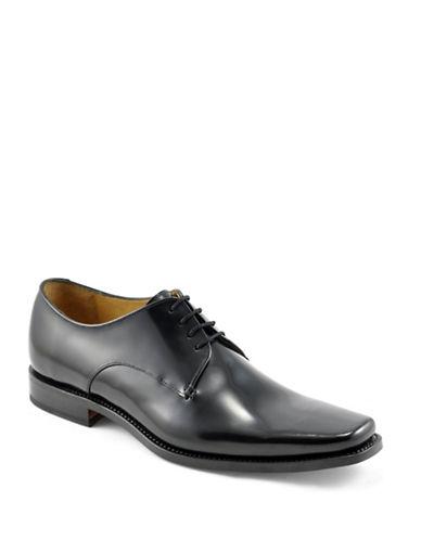 Loake Ridley Leather Oxfords-BLACK-UK 8/US 9