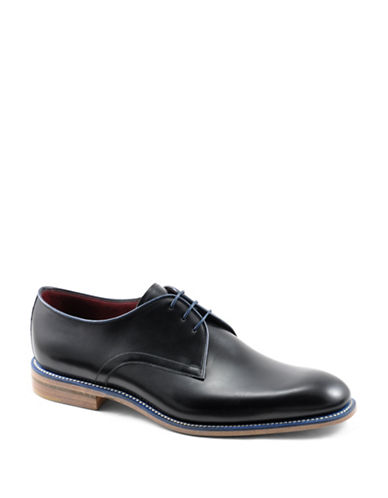 Loake Drake Calfskin Oxfords-BLACK-UK 8/US 9