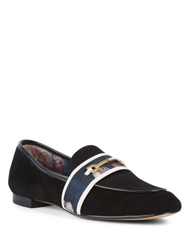 Ted Baker London Eliena Loafers-BLACK-8