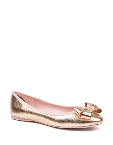 Ted Baker London Immet Ballet Flats-ROSEGOLD-UK 6.5/US 8.5