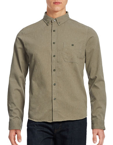 Native Youth Dustoff Sport Shirt-LIGHT GREEN-Small