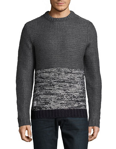 Native Youth Polar Wool-Blend Sweater-GREY-Small 88758342_GREY_Small