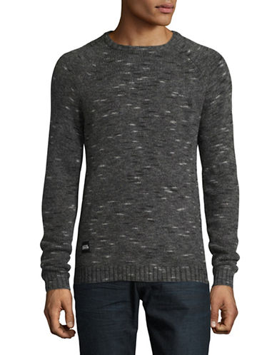 Native Youth Blizzard Wool-Blend Knit Sweater-GREY-Small 88758346_GREY_Small
