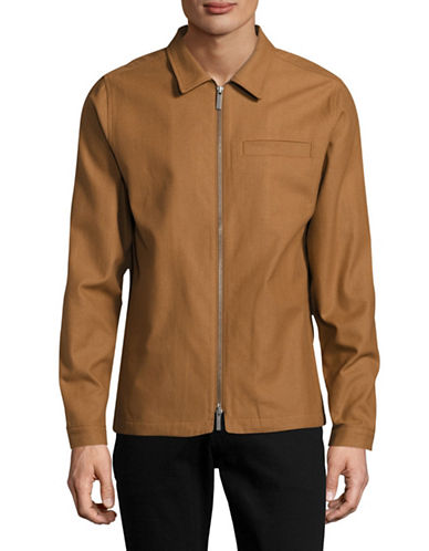 Native Youth Hemmick Zip-Front Jacket-BROWN-Large 89039277_BROWN_Large