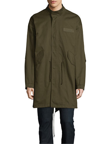 Native Youth Apex Parka-GREEN-X-Small/Small