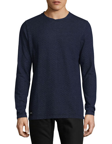 Native Youth Belmont Sweatshirt-BLUE-X-Large