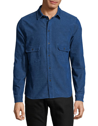 Native Youth Cheriton Sport Shirt-BLUE-X-Large
