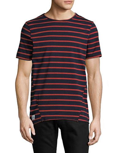 Native Youth Braddock Cotton T-Shirt-NAVY-Medium