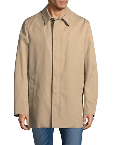 Aquascutum Berkeley Wool Raincoat-BEIGE-46