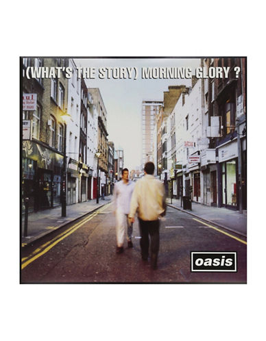 Vinyl Oasis - Whats The Story Morning Glory Vinyl-BLACK-One Size