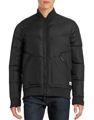 Penfield Vanleer Quilted Bomber Jacket-BLACK-Small 88691786_BLACK_Small