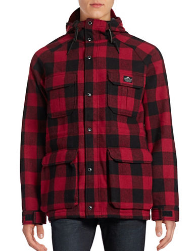 Penfield Kasson Buffalo Plaid Jacket-RED-Large 88691792_RED_Large