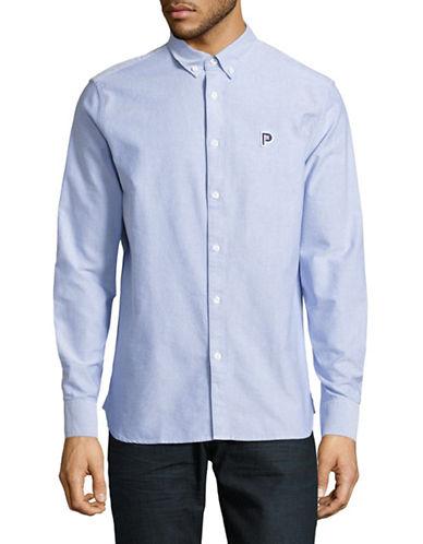 Penfield Porterville Oxford Shirt-BLUE-X-Large