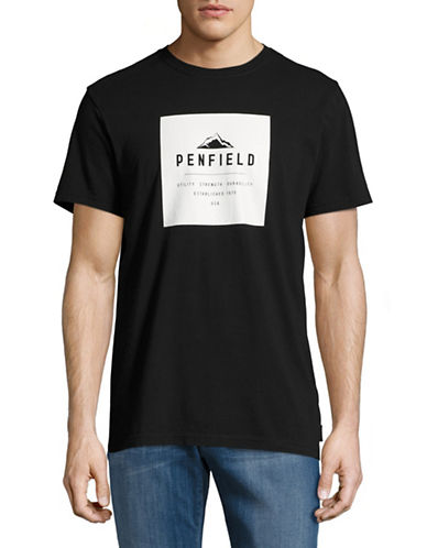 Penfield Kemp Logo T-Shirt-BLACK-Medium 89128211_BLACK_Medium