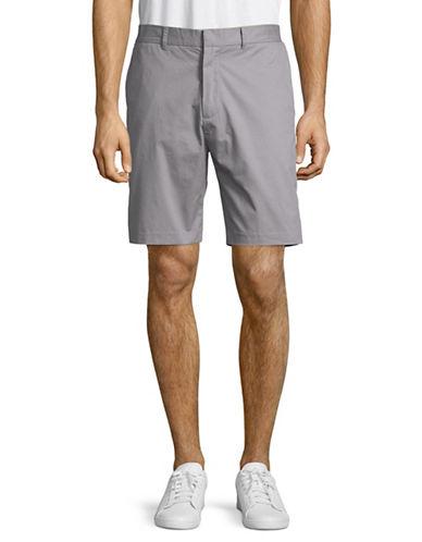Penfield Yale Waist Ribbed Shorts-GREY-Large