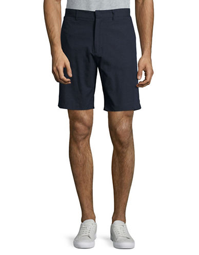 Penfield Yale Woven Dot Shorts-NAVY-Large