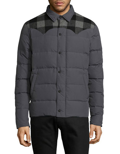 Penfield Rockford Quilted Puffer Jacket-GREY-Large 89403466_GREY_Large