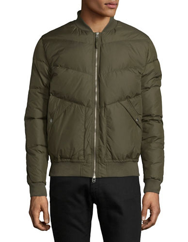 Penfield Down-Filled Vanleer Puffer Jacket-GREEN-Small
