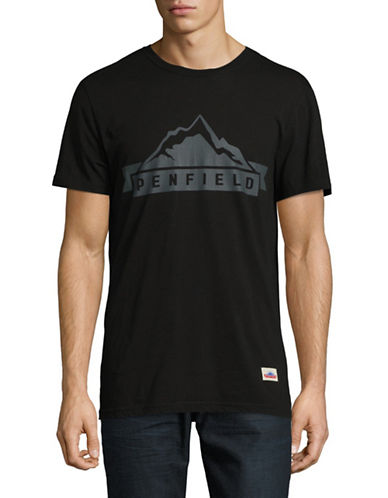 Penfield Mountain Cotton Tee-BLACK-Large