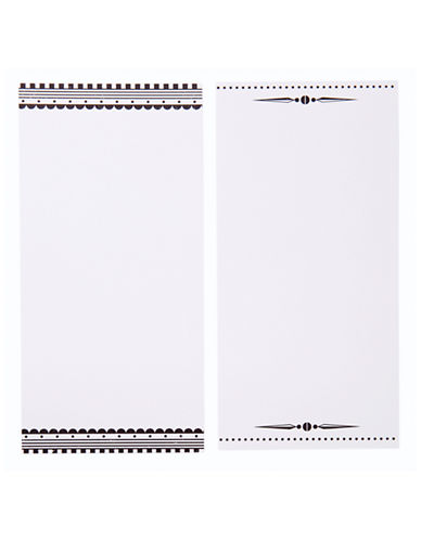 Talking Tables Monochrome Magic Invitations & Envelopes-WHITE BLACK-One Size