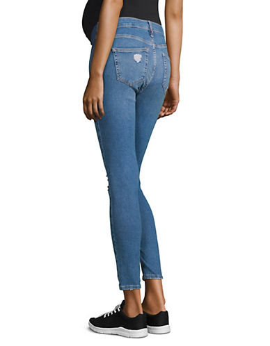 afe2e8fab7668 Brands | Clothing | MATERNITY MOTO Ripped Jamie Jeans 32-Inch Leg ...