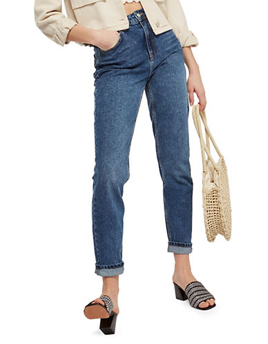 Tall Moto Mom Jeans 28 Inch Leg by Topshop