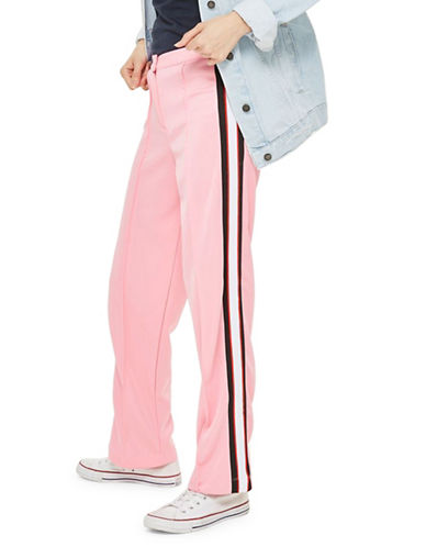 Topshop Striped Track Pants-PINK-UK 8/US 4 90020159_PINK_UK 8/US 4