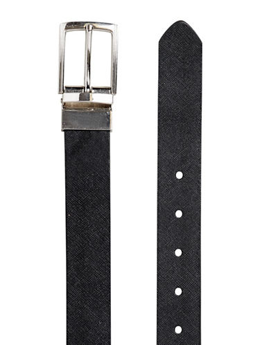 Topman Reversible Belt-BLACK-X-Small